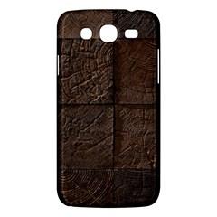 Wood Mosaic Samsung Galaxy Mega 5.8 I9152 Hardshell Case