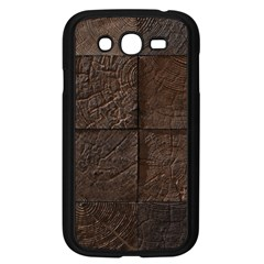 Wood Mosaic Samsung Galaxy Grand DUOS I9082 Case (Black)