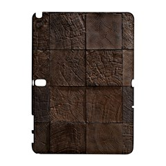 Wood Mosaic Samsung Galaxy Note 10 1 (p600) Hardshell Case