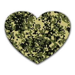 Camouflage Mouse Pad (Heart)