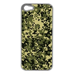 Camouflage Apple Iphone 5 Case (silver)