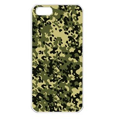 Camouflage Apple Iphone 5 Seamless Case (white)