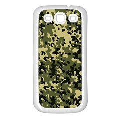 Camouflage Samsung Galaxy S3 Back Case (White)