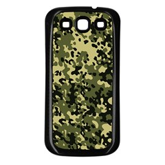 Camouflage Samsung Galaxy S3 Back Case (Black)
