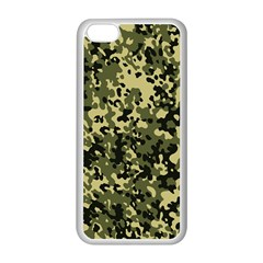 Camouflage Apple Iphone 5c Seamless Case (white)