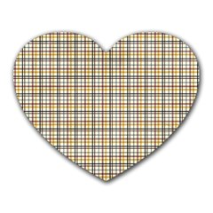 Plaid 4 Mouse Pad (heart)