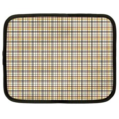 Plaid 4 Netbook Sleeve (large)