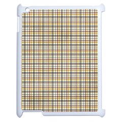 Plaid 4 Apple Ipad 2 Case (white)