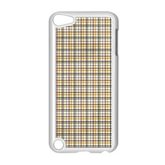 Plaid 4 Apple iPod Touch 5 Case (White)