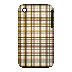 Plaid 4 Apple Iphone 3g/3gs Hardshell Case (pc+silicone)