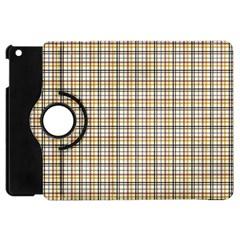 Plaid 4 Apple iPad Mini Flip 360 Case