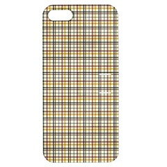 Plaid 4 Apple Iphone 5 Hardshell Case With Stand
