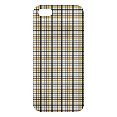 Plaid 4 Apple Iphone 5 Premium Hardshell Case