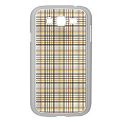 Plaid 4 Samsung Galaxy Grand DUOS I9082 Case (White)