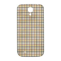 Plaid 4 Samsung Galaxy S4 I9500/I9505  Hardshell Back Case