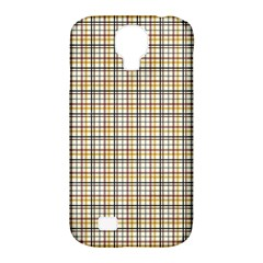 Plaid 4 Samsung Galaxy S4 Classic Hardshell Case (PC+Silicone)