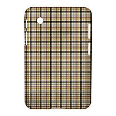 Plaid 4 Samsung Galaxy Tab 2 (7 ) P3100 Hardshell Case
