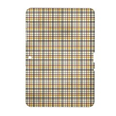 Plaid 4 Samsung Galaxy Tab 2 (10 1 ) P5100 Hardshell Case