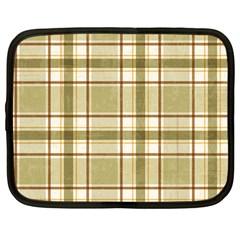 Plaid 9 Netbook Sleeve (Large)