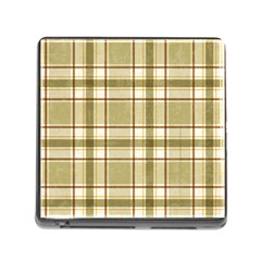 Plaid 9 Memory Card Reader with Storage (Square)