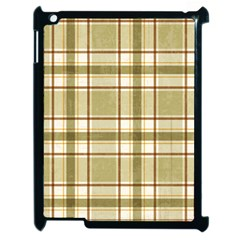 Plaid 9 Apple iPad 2 Case (Black)