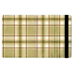 Plaid 9 Apple iPad 3/4 Flip Case