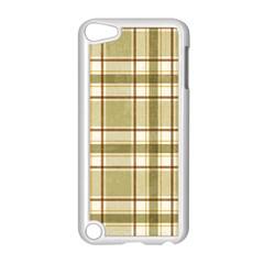 Plaid 9 Apple iPod Touch 5 Case (White)