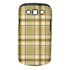 Plaid 9 Samsung Galaxy S Iii Classic Hardshell Case (pc+silicone)