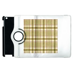 Plaid 9 Apple iPad 2 Flip 360 Case