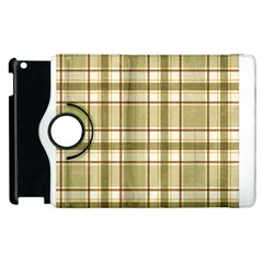 Plaid 9 Apple iPad 3/4 Flip 360 Case