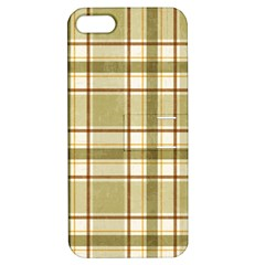 Plaid 9 Apple Iphone 5 Hardshell Case With Stand