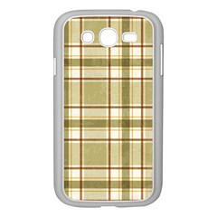 Plaid 9 Samsung Galaxy Grand DUOS I9082 Case (White)