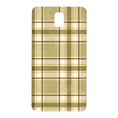 Plaid 9 Samsung Galaxy Note 3 N9005 Hardshell Back Case