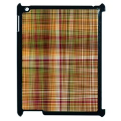Plaid 2 Apple iPad 2 Case (Black)