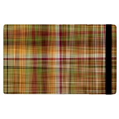 Plaid 2 Apple Ipad 2 Flip Case