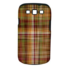 Plaid 2 Samsung Galaxy S III Classic Hardshell Case (PC+Silicone)