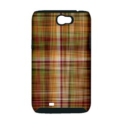 Plaid 2 Samsung Galaxy Note 2 Hardshell Case (PC+Silicone)