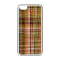 Plaid 2 Apple Iphone 5c Seamless Case (white)