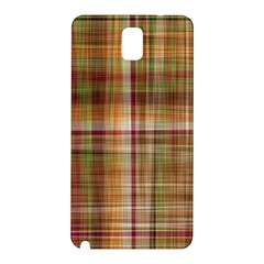 Plaid 2 Samsung Galaxy Note 3 N9005 Hardshell Back Case