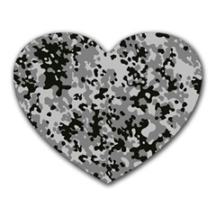 Camouflage Urban Mouse Pad (Heart)