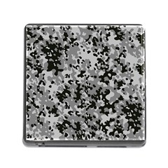 Camouflage Urban Memory Card Reader With Storage (square)