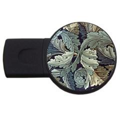 William Morris USB Flash Drive Round (1 GB)