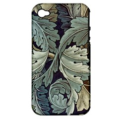 William Morris Apple Iphone 4/4s Hardshell Case (pc+silicone)