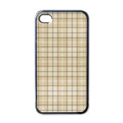 Plaid 7 Apple Iphone 4 Case (black)