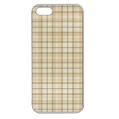 Plaid 7 Apple Seamless Iphone 5 Case (clear)