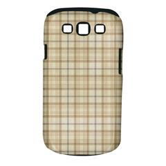 Plaid 7 Samsung Galaxy S III Classic Hardshell Case (PC+Silicone)