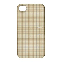 Plaid 7 Apple Iphone 4/4s Hardshell Case With Stand