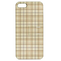 Plaid 7 Apple iPhone 5 Hardshell Case with Stand