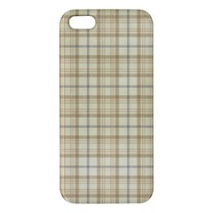 Plaid 7 Apple iPhone 5 Premium Hardshell Case