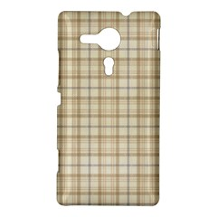 Plaid 7 Sony Xperia SP M35H Hardshell Case